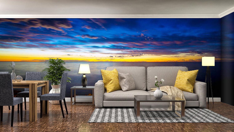 3D Himmel Wolken Meer 933 Tapete Wandgemälde Tapeten Bild Familie DE Lemon