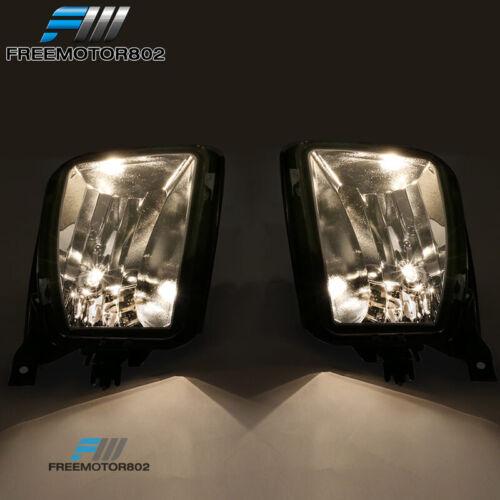 Fits 13-18 Dodge Ram 1500 Factory Clear Fog Lights Lamp W//Bulbs LH RH Pair