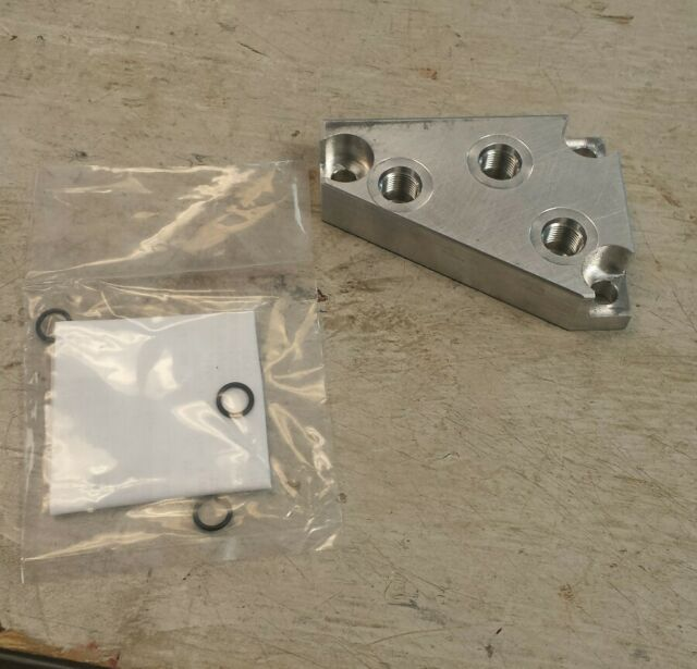 Hydraulic Adapter Kit Kubota L2250 L2550 L2850 Tractor