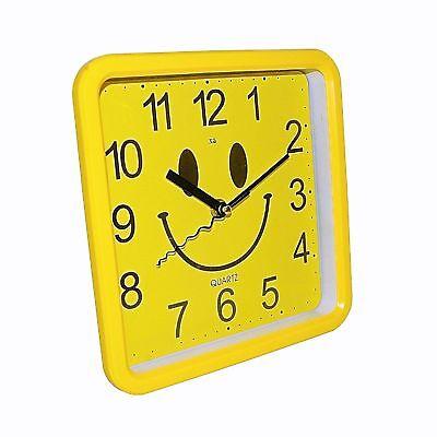 LiebenswüRdig Top Design Uhr Wanduhr 12 Stundenanzeige Analog Batteriebetrieben Quarzlaufwerk