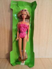 Barbie 1990's Florida Vacation Doll in A Sparkle Pink Swimsuit and Accessories