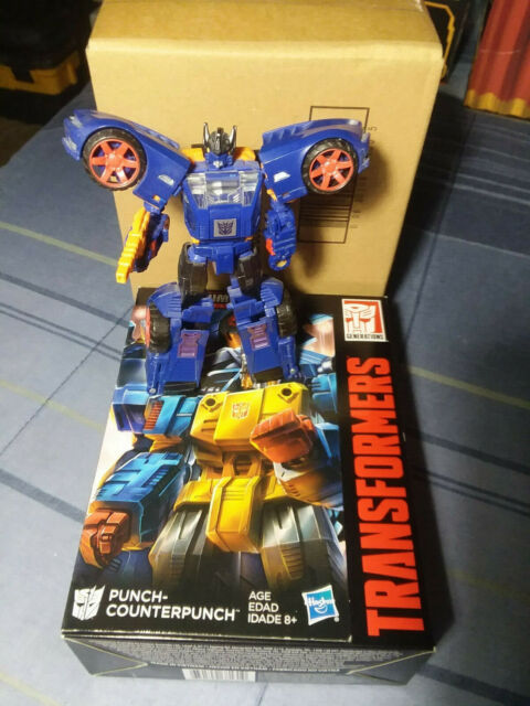 Hasbro Transformers Prime Wars Trilogy Power of the Primes Punch-Counterpunch