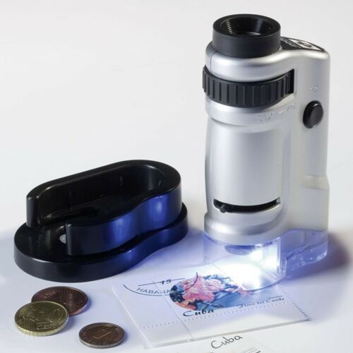 Leuchtturm Zoom Mikroskop 20-40 fach mit LED sehr preisgünstig      PM3neu