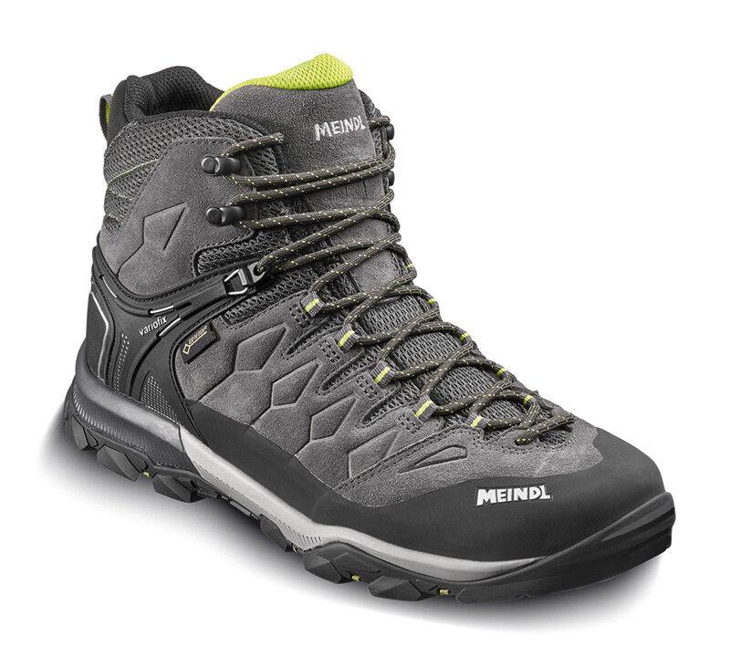 Meindl tereno MID GTX Hombre wanderschuh trekking zapato antracita-Lime   Obtén lo ultimo
