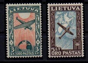 LITHUANIA 1934 Air Stamps MNH ** -ATZ