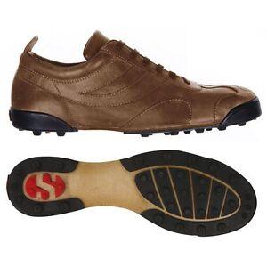 Superga Scarpe allacciate 2885 ROMA CALCETTO Uomo Donna Calcio sport Basso