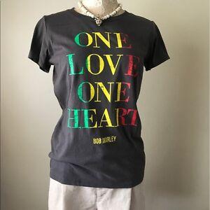 90930d12c2b Image is loading Bob-Marley-T-Shirt-One-Love-Rasta-Reggae-