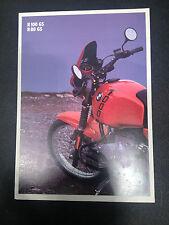 BMW Motorcycle Brochure - R100GS R80GS      (BK11)