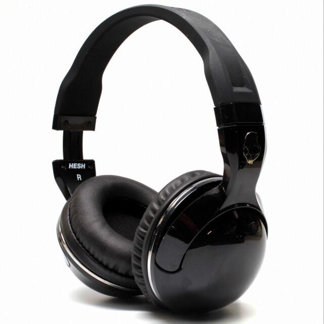 2ff703bad3e New Skullcandy Hesh 2 Stereo Headset Supreme Sound Mic Black White NBA Rare