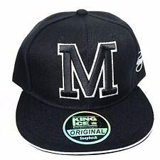 King Ice Street Casual Hip Hop Alphabet Letter Cotton Snapback Baseball Cap - M