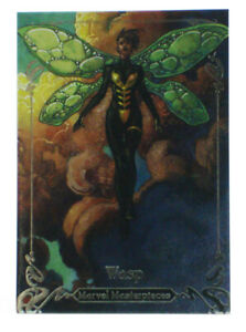 2018-Upper-Deck-Marvel-Masterpieces-Wasp-Base-Card-37-Simone-Bianchi-787-1499