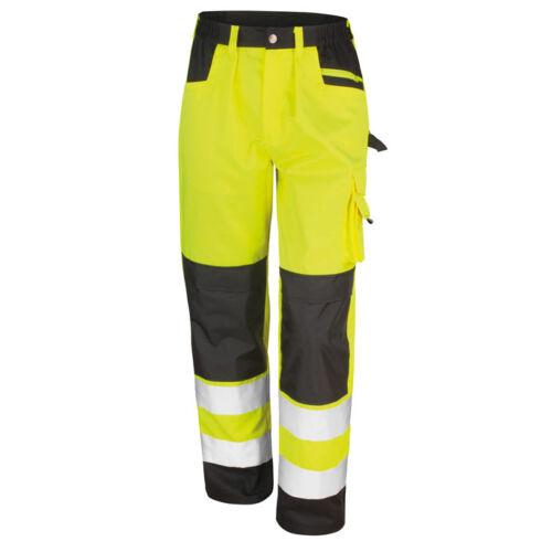 R327X Result Safe-Guard Hi Vis Safety Cargo Trousers Men/'s High Viz Pants