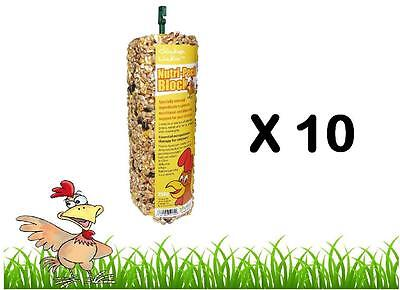 Pet Supplies Other Bird Supplies Chicken Lickin Nutri Peck Block 250g Anti Feather Pecking With Grit Hatching Egg Modern Techniques