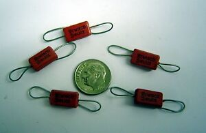 180pf-500v-Lot-of-10-Silver-Mica-Capacitor-Axial-Lead