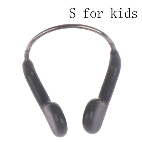 Adult//kids Swimming nose clip /& case transparent clear LY