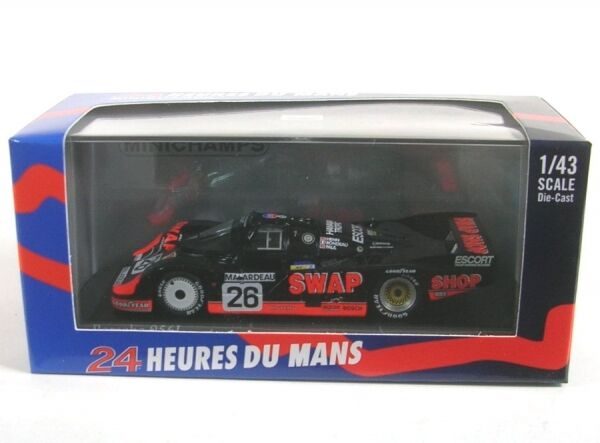 Porsche 956L No.26 2nd 24h 24h 24h LeMans 1984 (Henn - Rondeau - Paul jr.) 4c634b