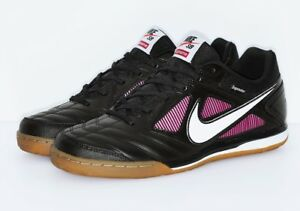 low priced 06329 55c9f Details about 2018 SUPREME x Nike SB Gato Black Gum Order Size 9 LIMITED  100% Authentic