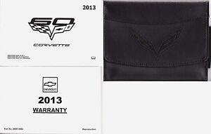 2013 corvette owners manual