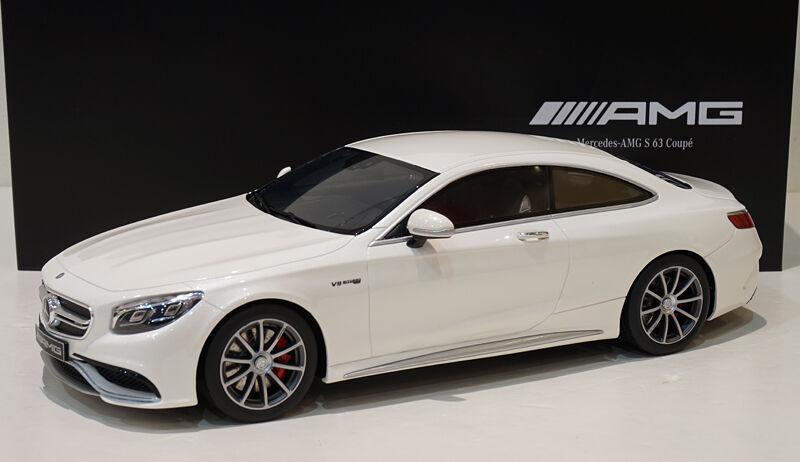 solo cómpralo GT Spirit Spirit Spirit  Mercedes Benz AMG S 63 Coupe Diamante Blanco Distribuidor EDT.  Envio gratis en todas las ordenes