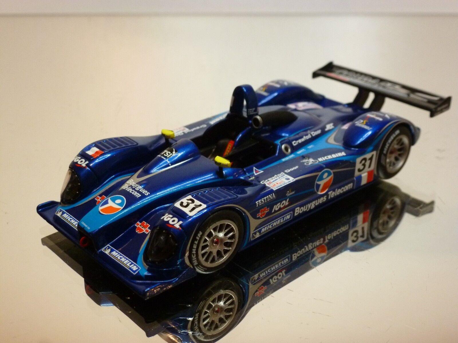 SPARK COURAGE C65 JPX 2003 blueE  METALLIC 1 43 - EXCELLENT - 20+21