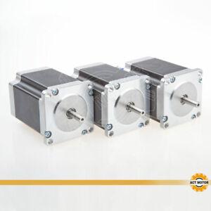 ACT-MOTOR-GmbH-3PCS-Nema23-Schrittmotor-23HS8430-3A-76mm1-9Nm-6-35mm-Bipolar