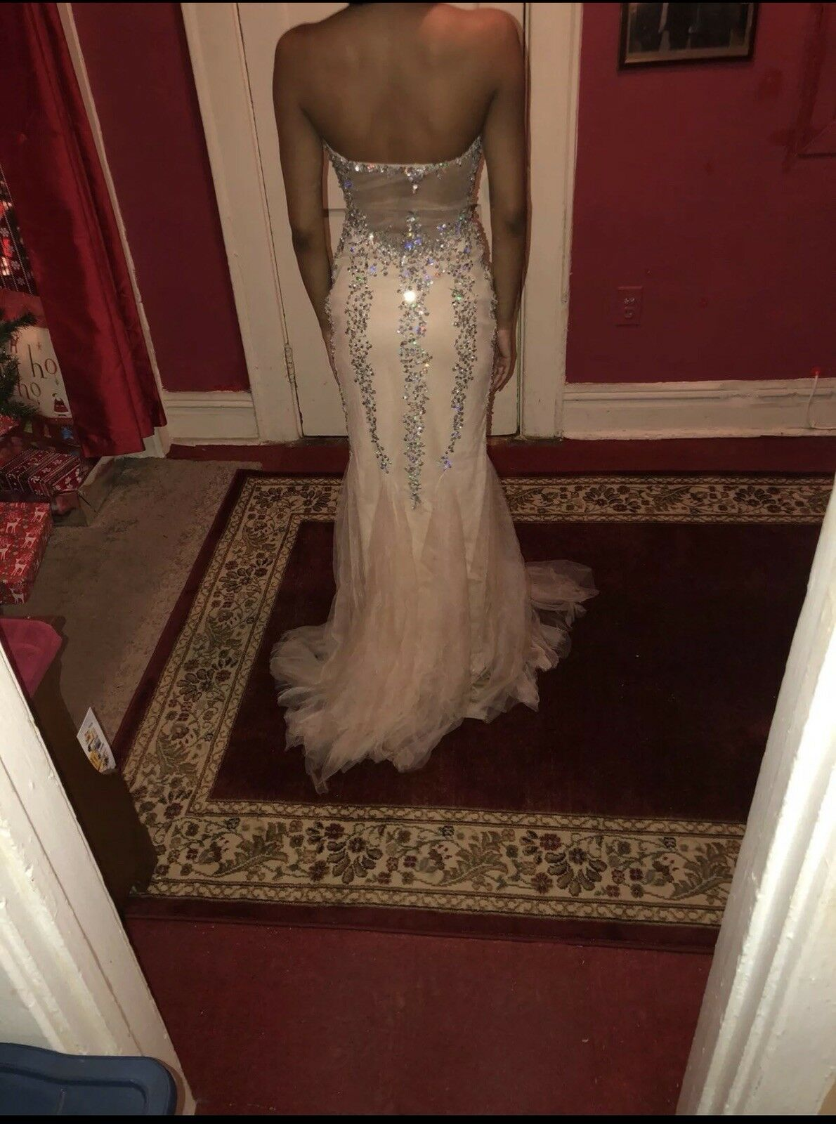 Cream Formal Ball Gown - image 2