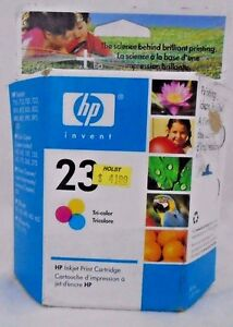 HP-23-Tri-Color-Inkjet-Cartridge-New-In-Sealed-Original-Packaging