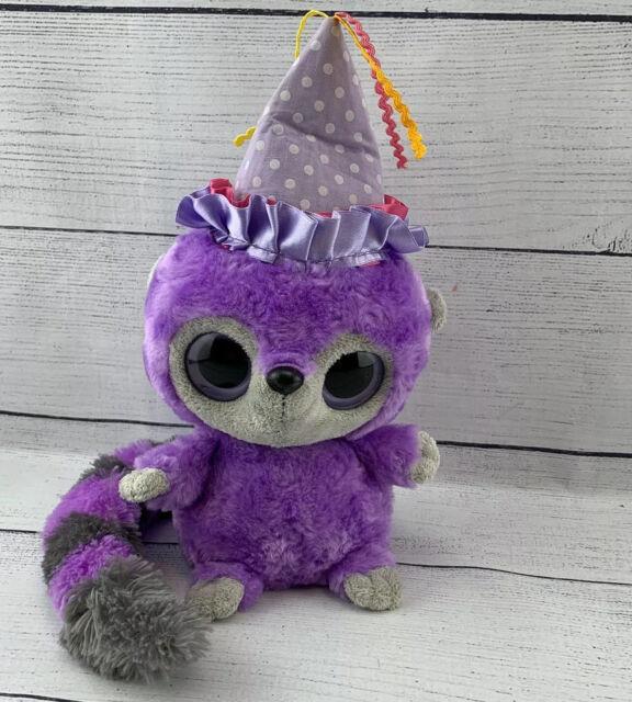 Plush Bush Baby Purple Yoo Hoo With Sound- Plays Happy ...