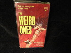 The-Weird-Ones-Paperback-Book-Belmont-L92541-H-L-Gold-1962