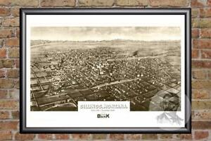 Vintage-Billings-MT-Map-1904-Historic-Montana-Art-Old-Victorian-Industrial