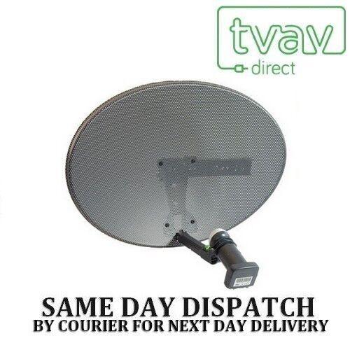 Sky Satellite Dish Zone 1 (MK4) With Quad LNB