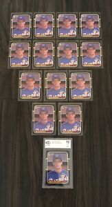 Kevin Brown Big Rookie Card Collection With Graded 10 Mint RC