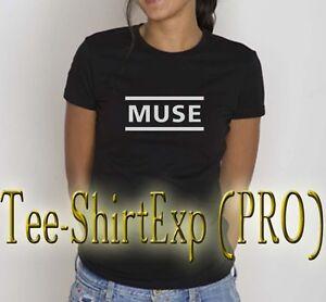T-shirt Femme Muse -tee Shirt Muse Rock Anniversaire Cadeau Madness - Xs Au Xl