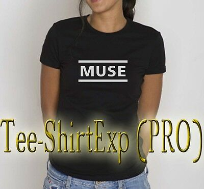 Cosciente T-shirt Femme Muse -tee Shirt Muse Rock Anniversaire Cadeau Madness - Xs Au Xl Beneficiale Per Lo Sperma