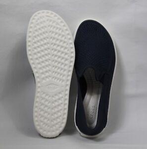 Men-039-s-CitiLane-Roka-Slip-On-Blue-Crocs-Size-9