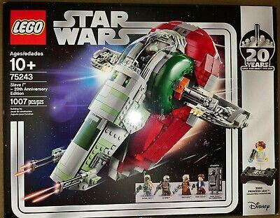 20th Anniversary Edition #75243 LEGO Star Wars Slave I BRAND NEW SEALED