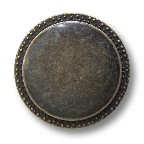 ojales de metal botones con transparente un lazo//B-Ware 1569md 5 altmessingffb