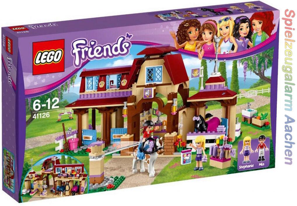 LEGO 41126 Friends Heartlake reiterhof Riding Club le club d 'équitation n16/07