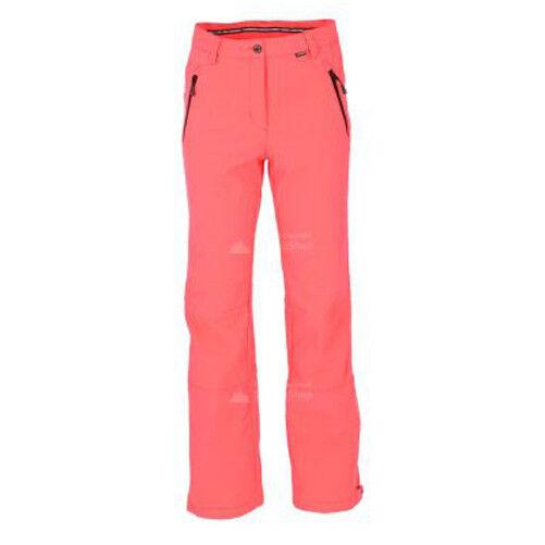 Damenschuhe pant Coral Rosa STRETCH SKI PANTS Riksu trouser pant Damenschuhe REG LEG 2018 c55a91