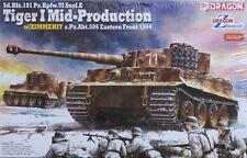 Dragon 1/35 Tiger I Mid-Production w/Zimmerit s.Pz.Abt. 506 1944 Kit #6624