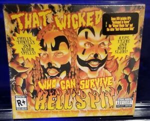 Insane Clown Posse - Hell's Pit CD / Tour DVD   twiztid esham icp tech n9ne abk