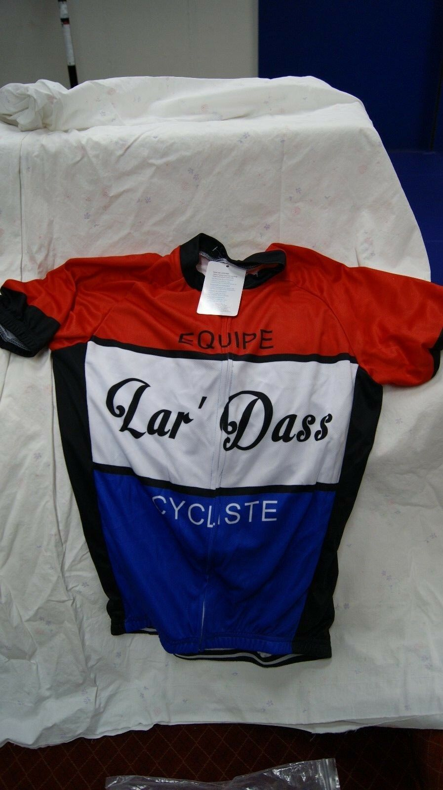 New Vintage Bicycle Jersey Short Sleeve