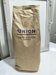 Union hand roasted coffee beans - dark roast - Revelation Espresso 1kg
