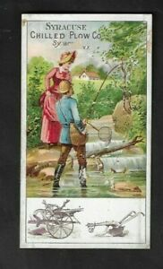 1880's Syracuse,NY - Syracuse Chilled Plow Co. Advertising Card