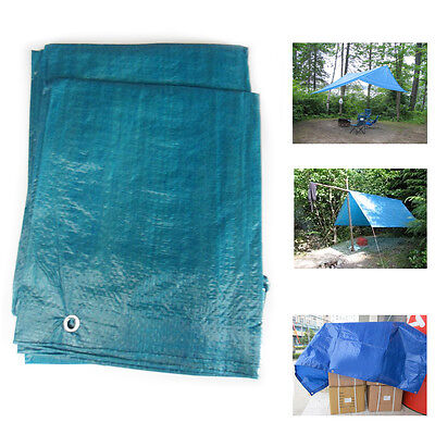 Tear-Proof Tarpaulin Lightweight UV Treated Sheet Camping Ground Shelter Covers