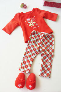 American Girl Holiday Dreams Pajamas for Dolls