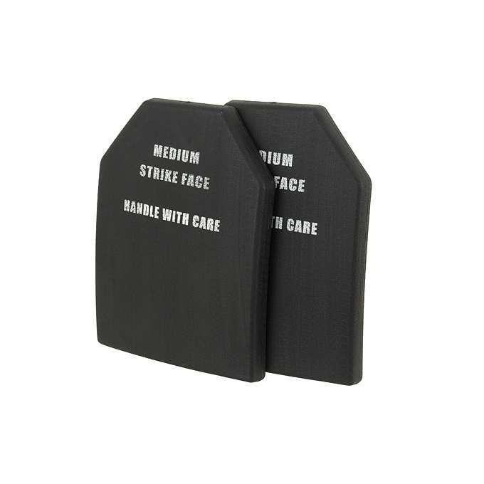 Airsoft COSPLAY Plastic Dummy SAPI Body Armor Plate (M) SET