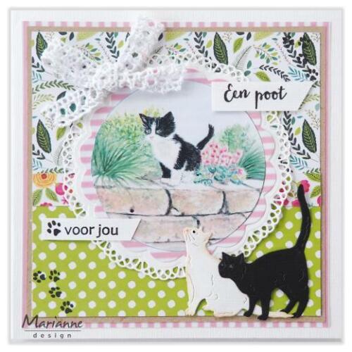 Marianne Design Creatables Corte muere-Tiny /'s Gatos LR0591