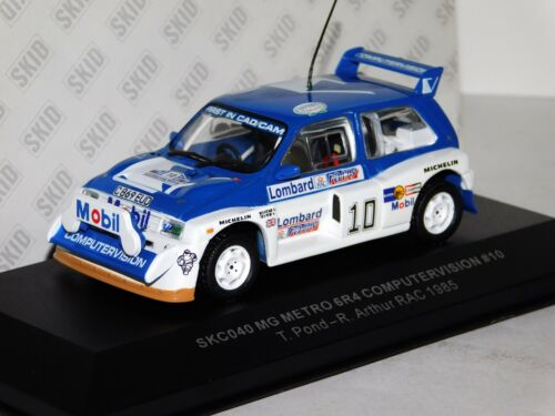 MG METRO 6R4 COMPUTERVISION #10 T POND RAC 1985 SKID SKC040 1:43