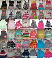 Girls Spring Summer Dress 12m 18m 24m 2t 4t 5 6
